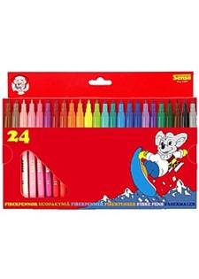 Fiberpenna 24 färger