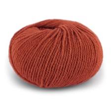 Dale Garn Pure Eco Wool Økologisk Ull Alpakka 50 g Terracotta 1230
