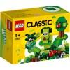 Kreativa gröna klossar, LEGO Classic (11007)