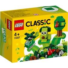 Grønne kreativitetsklosser, LEGO Classic (11007)
