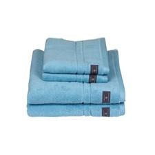 GANT Home Premium Towel 100% Bomull 50x70 cm Crystal Blue