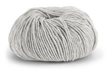Knit At Home Superfine Merino Wool Ullgarn 50 g Ljusgrå Melange 304
