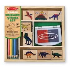 Dinosaurer Stempelsett, Melissa & Doug