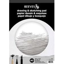 Piirustus- ja luonnoslehtiö Reeves A5