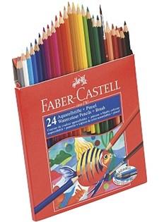 Akvarellpennor 24 Färger