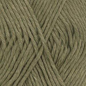 Drops Cotton Light Uni Colour Garn Bomullmix 50g Khaki 12