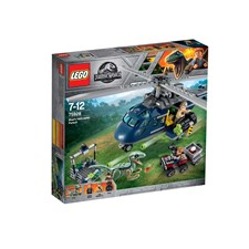 Blues helikopterjakt, LEGO Jurassic World (75928)