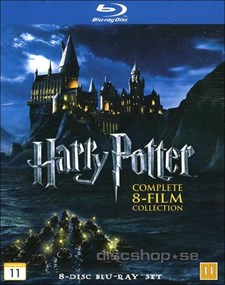 Harry Potter 1-7 Giftset (Blu-ray)