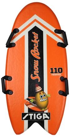 Foam Board, Snow Rocket 110 cm, Twintail, Orange, Stiga