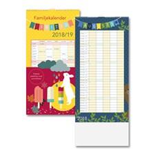 Väggkalender 18-19 Burde Familjekalender Fritid