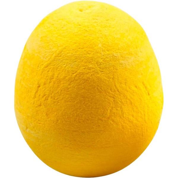 Egg, str. 47 mm, 5 stk., gul