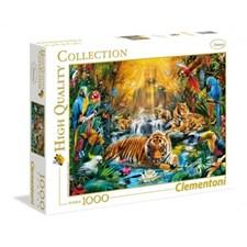 Puslespill HQC Mystic Tigers, 1000 brikker, Clementoni