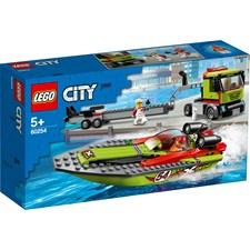 Racerbåt og trailer, LEGO City Great Vehicles (60254)