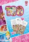 Klistermärken Holograf Prinsessor Sense 100-pack