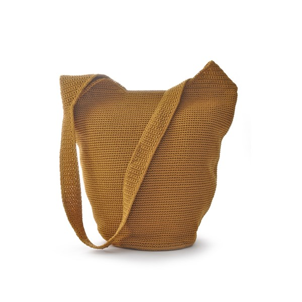 Ceannis Crochet Collection Body Bag Yellow