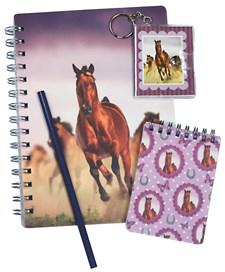 Kirjoitussetti Sense A5, hevonen