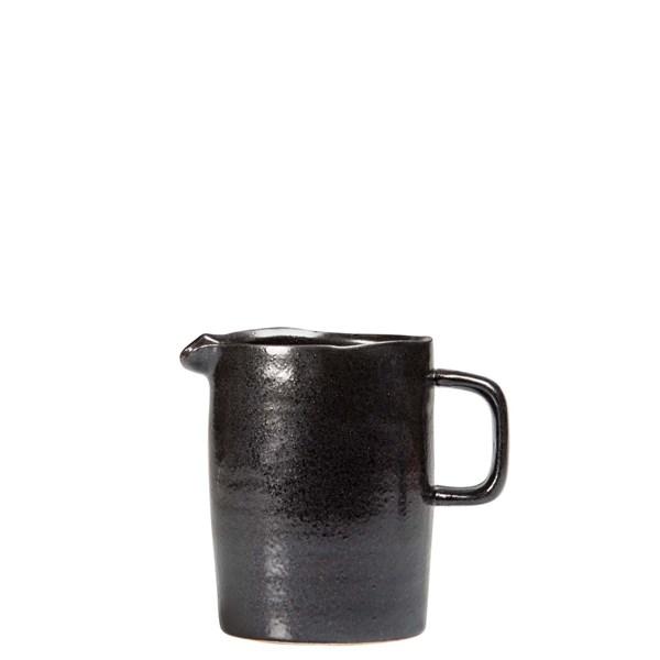 ByOn Guilia Kanna H 13 cm Stengods Svart (svart) - termosar  kannor & karaffer