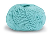 Knit At Home Superfine Baby Merino Ullgarn 50 g Dus Turkis 221