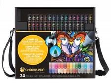 Chameleon 30-pack Pen Marker i Väska