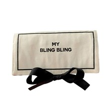 Bag-all Bling Bling Etuiet 29x18x2 cm Svart/Hvit