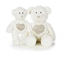 Nalle Teddy Cream Mellan Vit, Teddykompaniet
