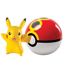 Pokémon, Clip 'n' Carry Ball, Pikachu + Repeat Ball