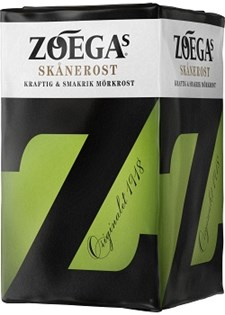 Kaffe ZOEGAS Skånerost 450 g Filter