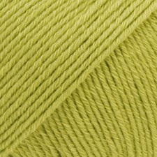 Drops Cotton Merino Uni Colour Garn Ullmix 50g Pistachio 10