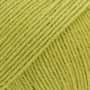 Drops Cotton Merino Uni Colour Lanka Villasekoitus 50g Pistachio 10