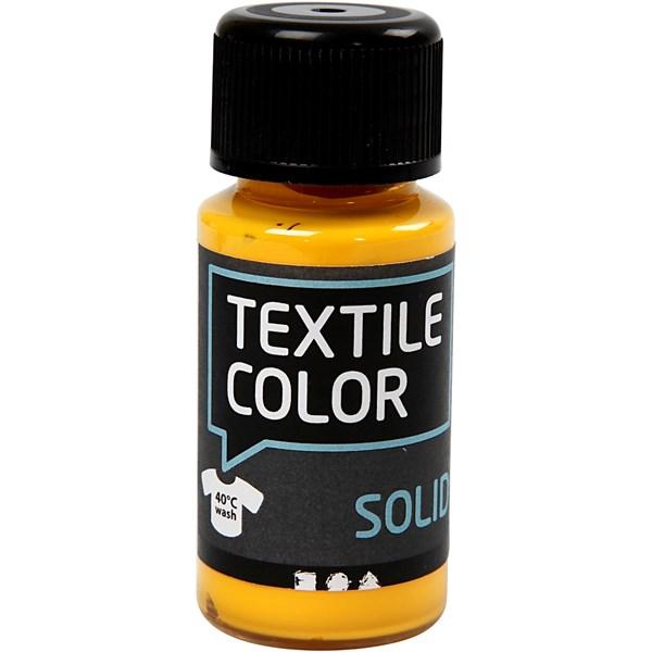 Textile Color Solid, 50 ml, keltainen