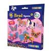 Rörpärlor och Pärlplattor Häst & Fjäril 2000 st Playbox