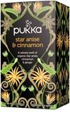 Pukka Te Star Anise & Cinnamon Tepåsar 20 st Ekologisk