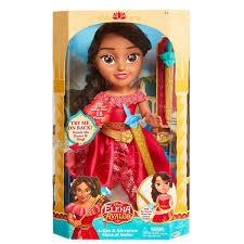 Toddler Doll 38 cm, Elena Action Adventure Doll, Disney Elena från Avalor