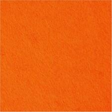Hobbyfilt, B: 45 cm, tykkelse 1,5 mm, 1 m, orange