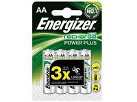 Batteri Oppladbart ENERGIZER AA 4/fp