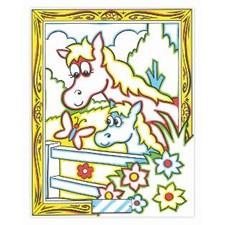 Väritä numeroiden mukaan - hevonen