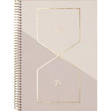 Burde Kalender 20-21 Study A5 Saga, beige