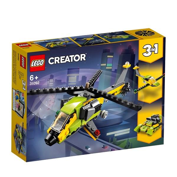 Helikopteräventyr  LEGO Creator (31092)  Lego - lego & duplo