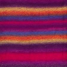Drops Delight Print Garn Ullmix 50g Rainbow 12