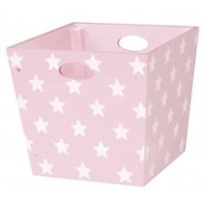Förvaringsbox Star, Rosa, Kids Concept