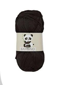 Viking of Norway Bambino Garn Bomullsmix 50g Svart 403