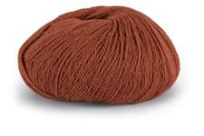 Knit At Home Superfine Alpaca Merino Garn Ullmix 50 g Terracotta 134