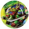 Ninja Turtles tallrikar, 8 st