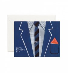 Gratulasjonskort Farsdag - Father's Day Suit
