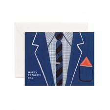 Gratulasjonskort Farsdag - Father's Day Suit