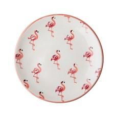 Rice Asiette Flamingo print D:21 cm Keramik