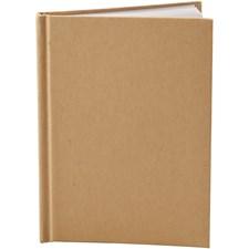 Kinabok, A6 10,5x15 cm, tjocklek 8 mm, 1 st., brun
