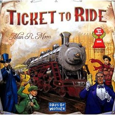 Ticket To Ride, USA, Brettspill (SE/NO/DK)