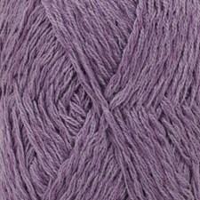Drops Belle Uni Colour Garn Bomullmix 50g Violet 18
