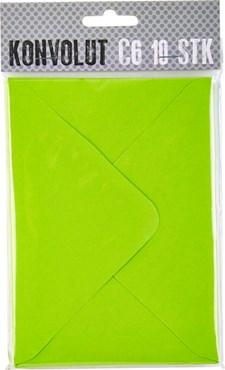 Kuvert C6 Limegrön 10st